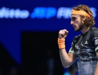 Tsitsipas gewinnt Endspiel der ATP Finals gegen Thiem