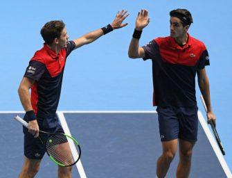 Herbert/Mahut gewinnen Doppel-Konkurrenz der ATP Finals