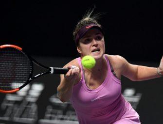 Pliskova komplettiert Halbfinale – Switolina ungeschlagen