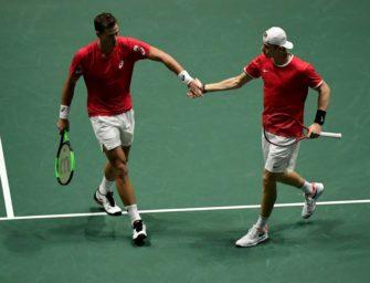 Davis-Cup: Kanada im Halbfinale, Deutschland gegen Großbritannien