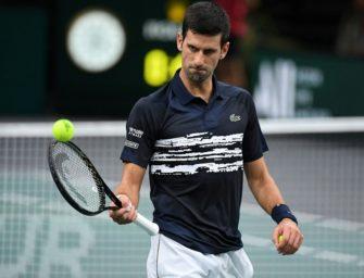 Djokovic gewinnt zum fünften Mal das Masters in Paris-Bercy
