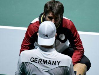 Qualifikation für Davis Cup 2020: Deutschland mit Heimspiel gegen Weißrussland