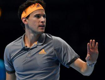 Thiem mit erster Niederlage bei ATP-Finals