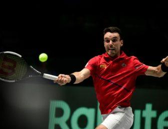 Sorge um Vater: Spanier Bautista Agut reist vom Davis Cup ab