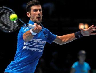 Djokovic startet mit mühelosem Sieg in die ATP-Finals