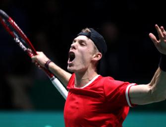 Davis Cup: Shapovalov lässt Kanada jubeln