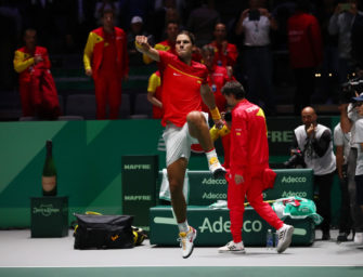 Davis Cup: Spanien siegt im Late-Night-Finish