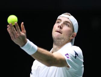 Viertelfinale vor Augen: Davis-Cup-Team zum Auftakt bärenstark