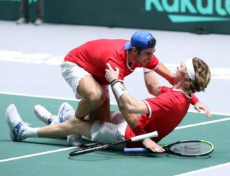 Davis Cup: Russland wirft Djokovics Serben raus