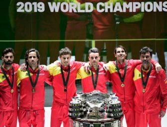 Dank Nadal: Spanien gewinnt zum sechsten Mal den Davis Cup