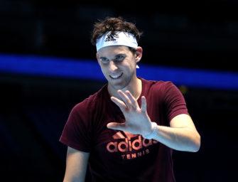 Dominic Thiem bei den ATP-Finals: Der lachende Vierte