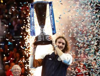 "Tsitsipas: ""Bin nah dran, Grand Slam-Champion zu werden"""