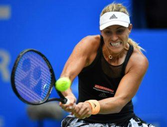 Kerber startet erfolgreich in die neue Tennis-Saison