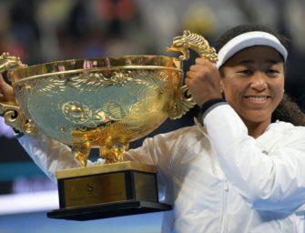 Tennisstar Osaka holt Kerbers Ex-Coach Fissette