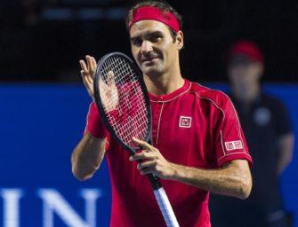 Roger Federer bekommt eigene Gedenkmünze