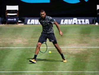 Australier Kyrgios wie Zverev beim Stuttgarter ATP-Turnier