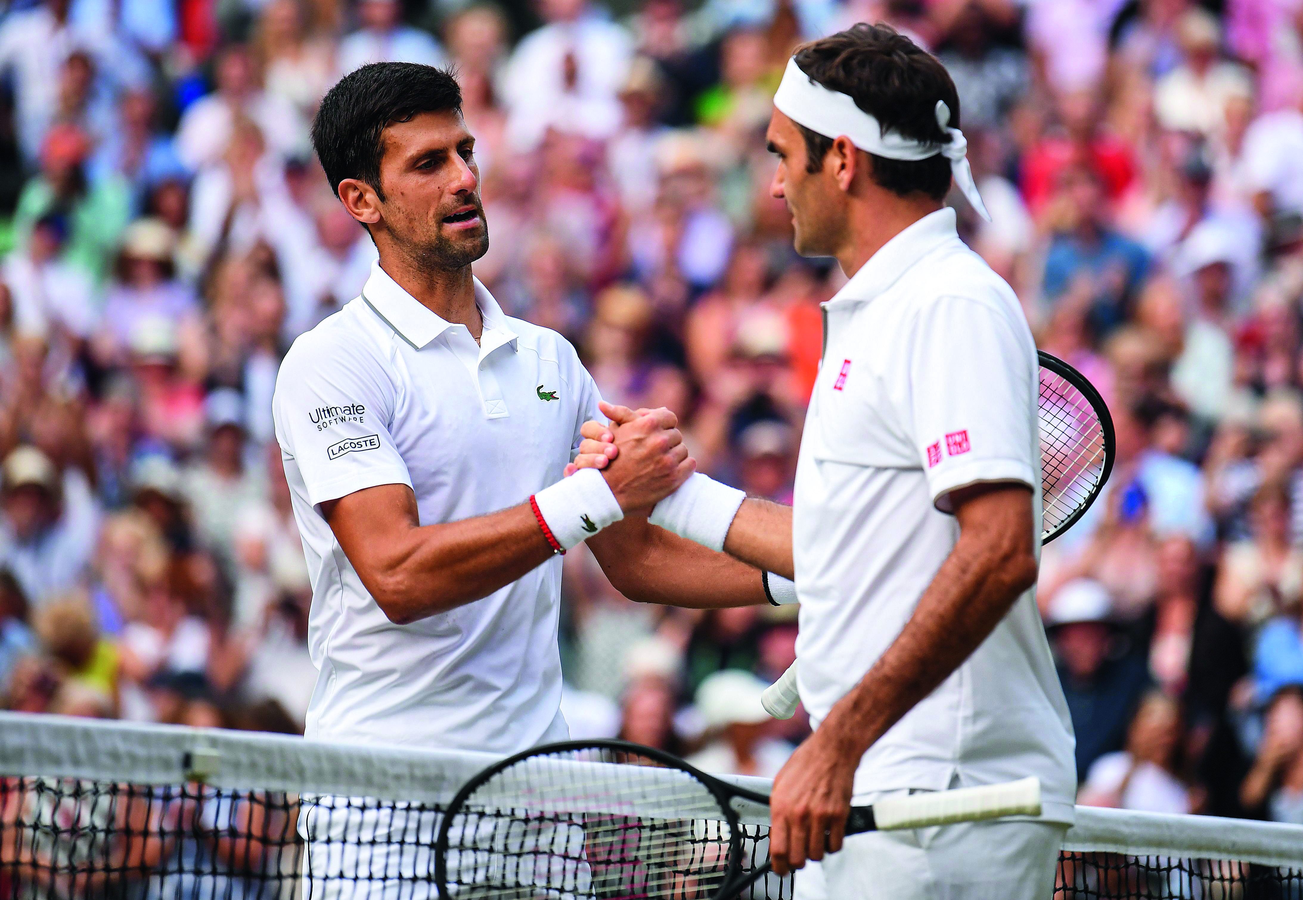 GOAT Federer Nadal Djokovic