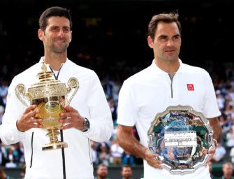 Jahrhundertfinale in Wimbledon: Der irre Showdown zwischen Djokovic und Federer