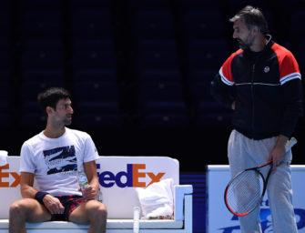 """Goran Ivanisevic: """"Novak möchte nur einen Coach haben"""""""