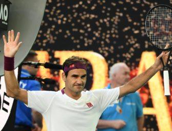 Sieben Matchbälle abgewehrt: Federer im Halbfinale