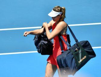 """""""Ich habe keine Kristallkugel"""": Sharapova vor ungewisser Zukunft"""