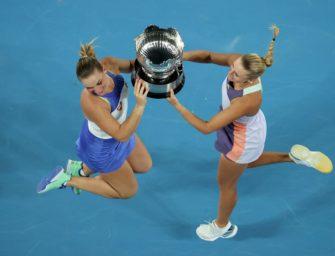 Dritter Grand-Slam-Titel für Babos/Mladenovic