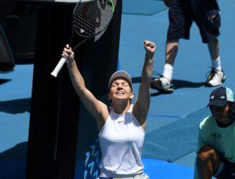 Australian Open: Halep, Kontaveit und Thiem im Viertelfinale