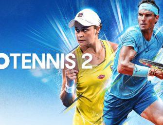 AO Tennis 2: Gewinnt das neue Tennis-Game für PC, PS4, Xbox One und Switch