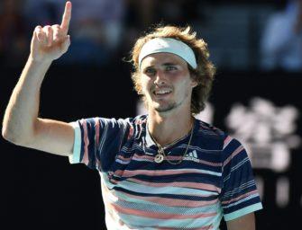 Zverev erstmals in einem Grand-Slam-Halbfinale