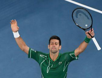 Djokovic bezwingt Federer und stürmt ins Melbourne-Finale