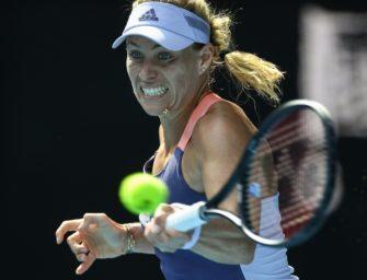Australian Open: Kerber zieht in die dritte Runde ein