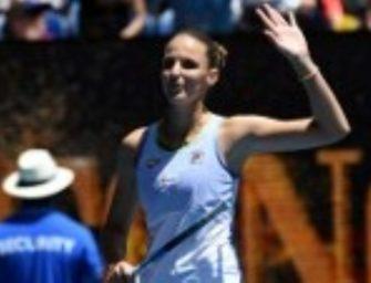 Australian Open: Siege für Pliskova und Bencic