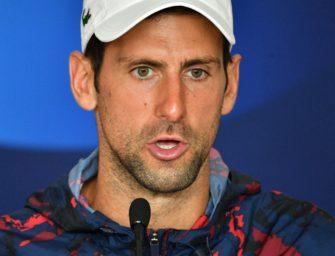 """Djokovic: Verschiebung der Australian Open """"allerletzte Option"""""""