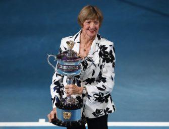 Umstrittene Margaret Court für Grand-Slam-Jubiläum geehrt