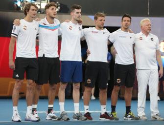 ATP Cup: Deutschland trifft auf Kanada