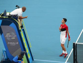 ATP Cup: Wegen Serbien-Fans – Schiedsrichter mit klarer Ansage