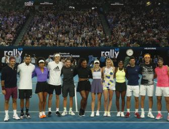 Buschbrände in Australien: Tennisstars erlösen Spenden in Millionenhöhe