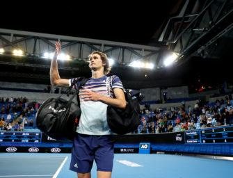 Australian Open Tag 4: Erreichen Zverev und Kerber Runde 3?