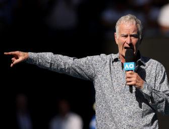 Tennis Australia verstimmt über Protest von Navratilova und McEnroe