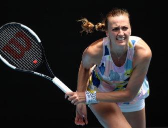 Australian Open: Kvitova erste Viertelfinalistin