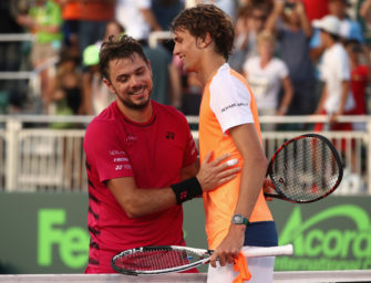 Zverev gegen Wawrinka: Viertelfinale ohne Favorit