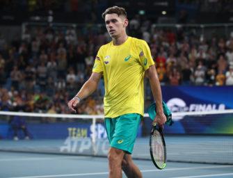 Ganz bitter: Local Hero Alex de Minaur kann nicht in Melbourne spielen