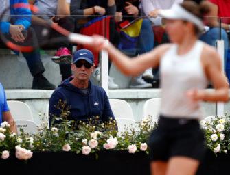 Endlich: WTA-Tour erlaubt Coaching von der Tribüne aus