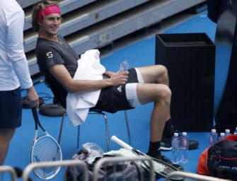 """Zverev: """"Vor einem Grand Slam noch nie so schlecht gespielt"""""""