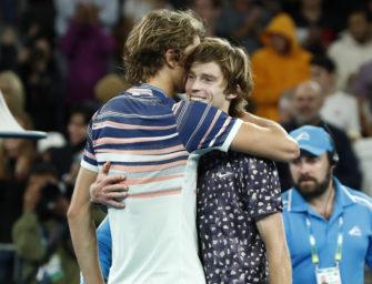 """Zverev im Viertelfinale: """"Ich bin einfach happy!"""""""