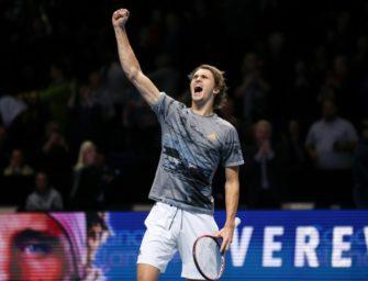 """Schüttler über Zverev: """"Viel zu gut, als dass er kein Grand-Slam-Turnier gewinnt"""""""