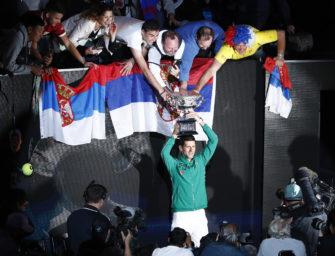 """Novak Djokovic, der König von Melbourne: """"Ich bin gesegnet"""""""