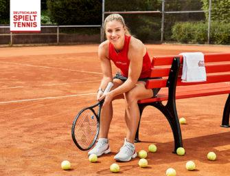 Deutschland spielt Tennis: Neue Mitglieder mit Angie Kerber werben