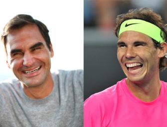 Sehenswert: Federer & Nadal reagieren auf gefeiertes Video von 2010