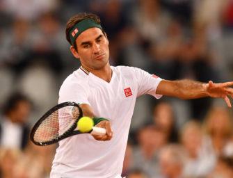 """Federer im Gespräch mit Kuerten: """"Momentan trainiere ich nicht"""""""
